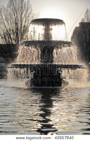 Fountain And Water