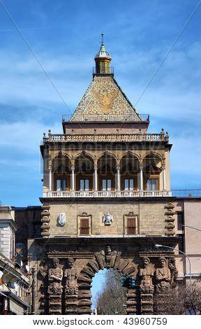 Porta Palazzo In Palermo, Italy