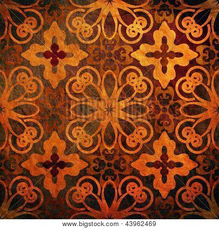 art vintage pattern, grunge background