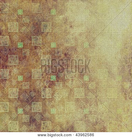art vintage pattern, grunge geometric background