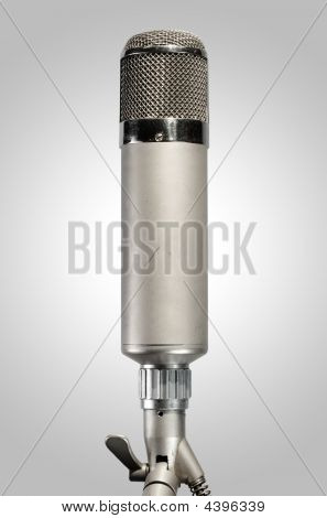 Micrófono de estudio Vintage