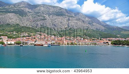 Village of Makarska,Croatia