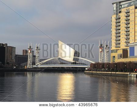 Manchester Millennium Lifting Footbridge