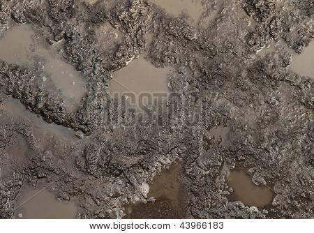 Textura de lama
