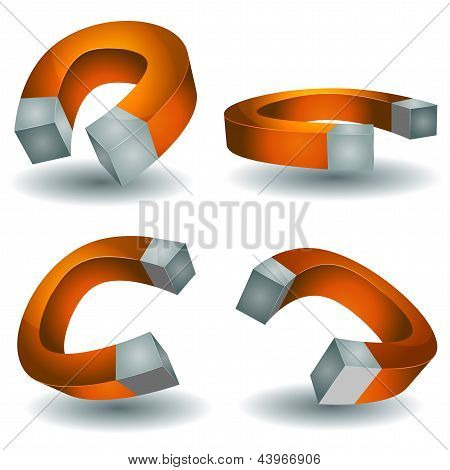 Horseshoe Magnet Set