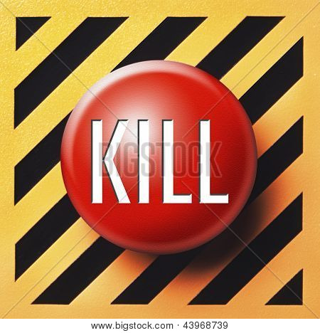 Kill button in red