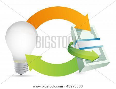 Money Making Idea Concept Illustration
