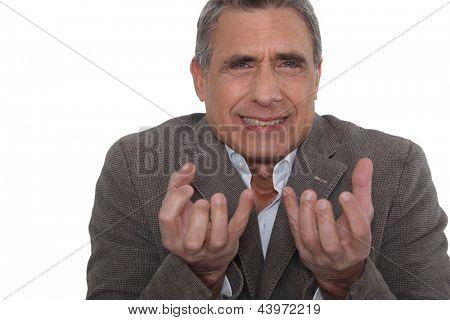 Expressive man