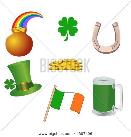 St, Patrick's Day Icons