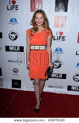 LOS ANGELES - APR 2:  Izabella Miko arrives at  the No Kill L.A. Charity Event at the Fred Segal on April 2, 2013 in West Hollywood, CA