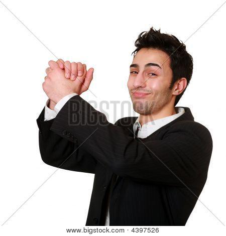 Businessman's Handshake