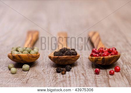 Various Pepper