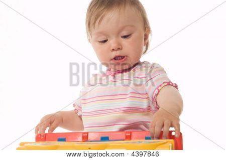 Bebê se divertindo