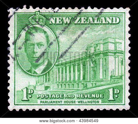 Parliament House Of Wellington, New Zealand