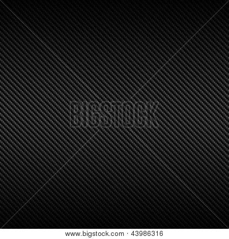 Textura de fibra de carbono negro