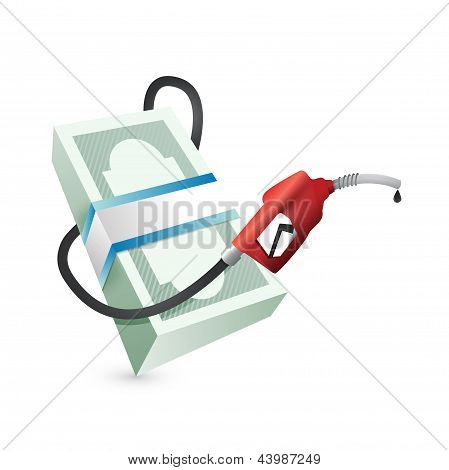 Gas Prices Concept Illustration Design