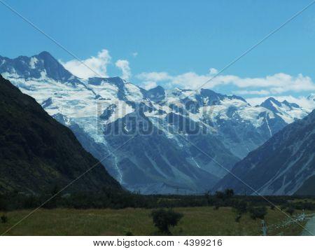 Mountain Ranges In New Zealand