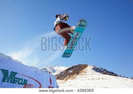 Snowboard Man Extreme Fly