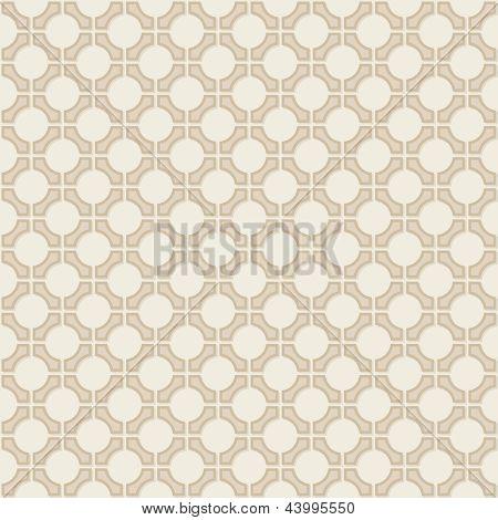 Vektor Seamless Vintage Wallpaper geometrische Muster