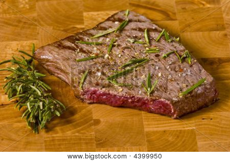 Cooked Rump Steak
