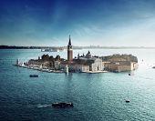 Постер, плакат: вид острова Сан Джорджо Венеция Италия