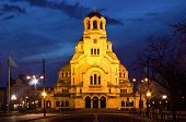 Cathedral Church Saint Alexandar Nevsky In Sofia, Bulgaria