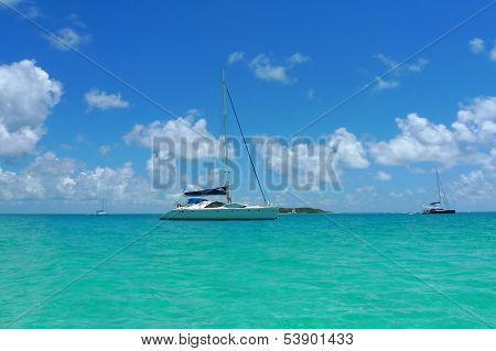 The Moorings charter yacht near Tortola, British Virgin Islands