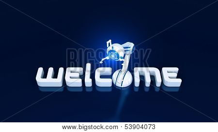Welcome robotic