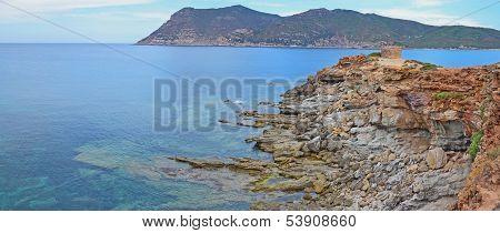 Sardinia panorama landscape, Italy