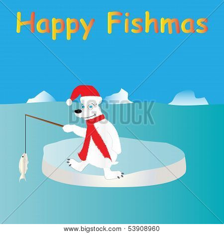 Polar Bear Fishing