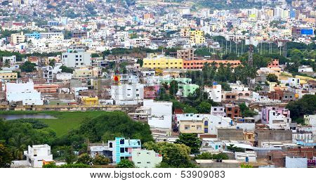 HYDERABAD INDIA - August 28 : Hyderabad is fifth largest contributor city to India's GDP with US$74 billion . On August 28,2012 Hyderabad, India.