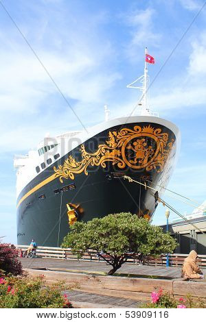 Disney Wonder Ship