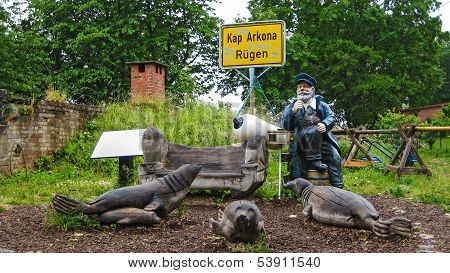 Kap Arkona, R�gen, Greetings From The Captain