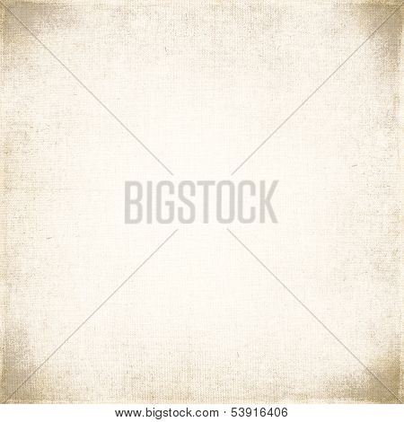 Vintage Background On Textured Fabric