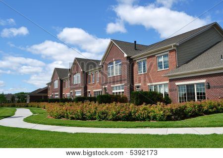 Suburban Luxury Townhomes