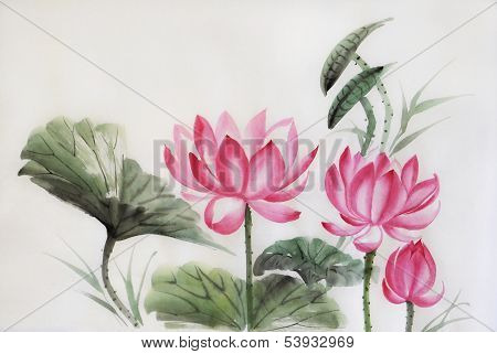 Three Lotuses