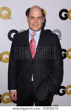 LOS ANGELES - NOV 12:  Matthew Weiner at the GQ 2013