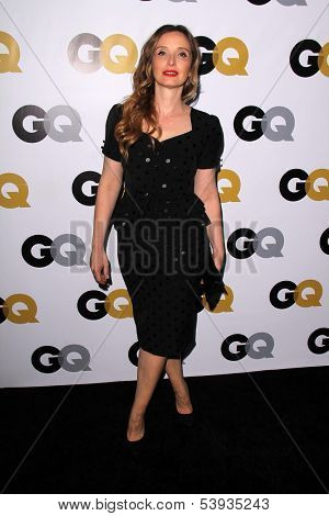 LOS ANGELES - NOV 12:  Julie Delpy at the GQ 2013