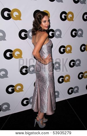 LOS ANGELES - NOV 12:  Willa Holland at the GQ 2013
