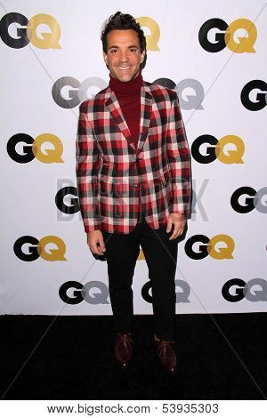 LOS ANGELES - NOV 12:  George Kotsiopoulos at the GQ 2013