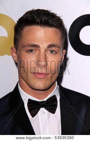LOS ANGELES - NOV 12:  Colton Haynes at the GQ 2013