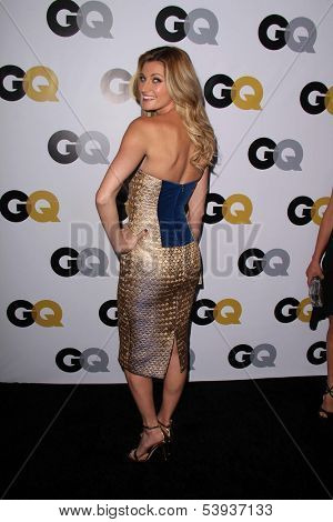 LOS ANGELES - NOV 12:  Erin Andrews at the GQ 2013