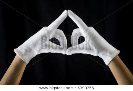 White Gloves Triangle