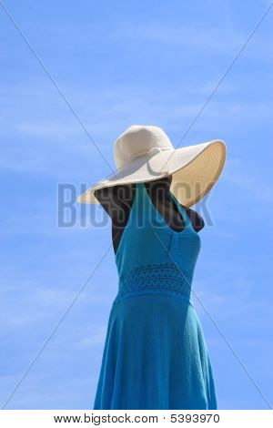 Mannequin In Blue