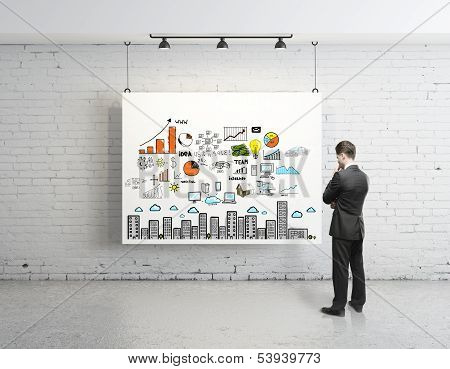 Business Strategy On Poster