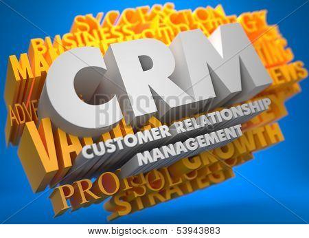 CRM. Business Concept.