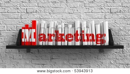 Marketing. Education Concept.