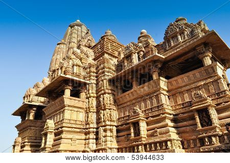 Vishvanatha Temple,Dedicated To Shiva, Khajuraho, India - UNESCO world heritage site.