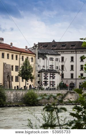 Ottoburg In The Old Town Of Innsbruck, Tyrol,