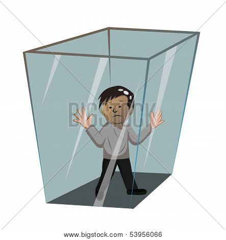 Person In The Box